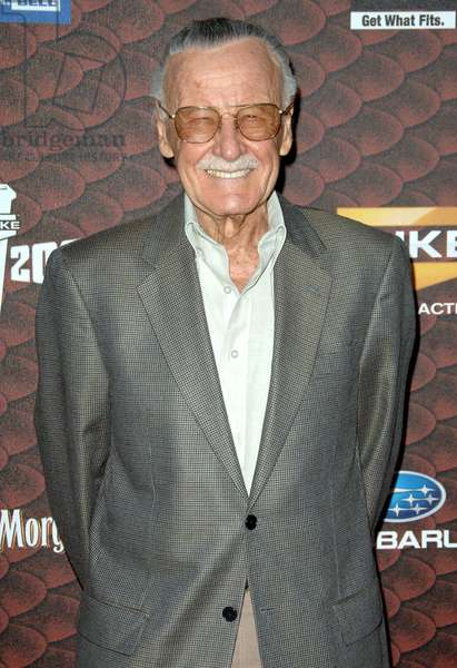 Stan Lee at arrivals for 2008 Spike TV's SCREAM Awards, Greek Theatre in Griffith Park, Los Angeles, CA, October 18, 2008. Photo by: Dee Cercone/Everett Collection