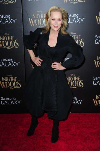 Meryl Streep: Meryl Streep (wearing an Issey Miyake jacket and skirt) at arrivals for INTO THE WOODS World Premiere, Ziegfeld Theatre, New York, NY December 8, 2014. Photo By: Gregorio T. Binuya/Everett Collection