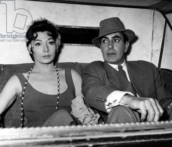 Le soleil se leve aussi: THE SUN ALSO RISES, Juliette Greco, Tyrone Power, 1957, TM & Copyright ©20th Century Fox Film Corp. All rights reserved