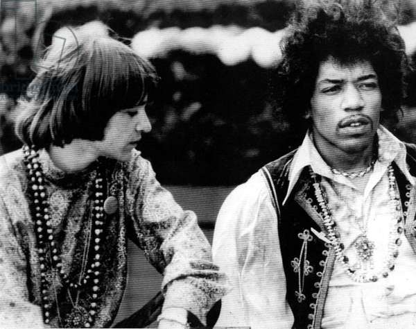 THE MAYOR OF THE SUNSET STRIP, Rodney Bingenheimer, Jimi Hendrix, 2003, (c) First Look Pictures/courtesy Everett Collection