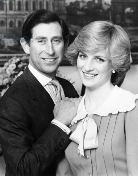 From left: Prince Charles and Princess Diana of Wales, 1985