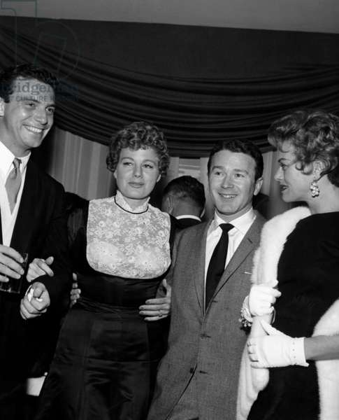 Anthony Franciosa, Shelley Winters, Red Buttons, Janis Paige, 1957