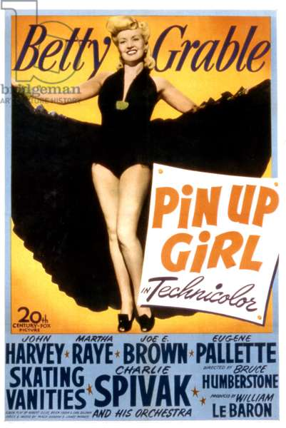 PIN UP GIRL, Betty Grable, 1944, TM and Copyright (c)20th Century Fox Film Corp. All rights reserved.