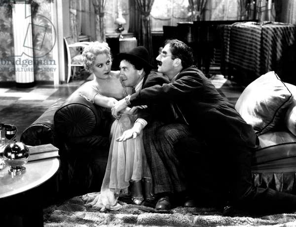 Plumes de cheval: HORSE FEATHERS, Thelma Todd, Chico Marx, Groucho Marx, 1932