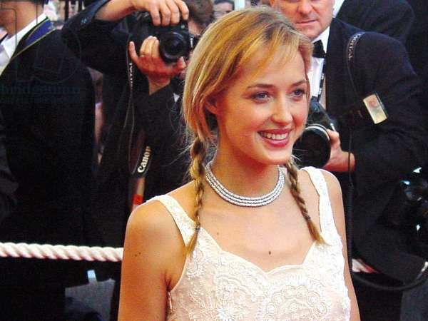 Helene de Fougerolles at the Cannes Film Festival 5/2002, by Thierry Carpico.