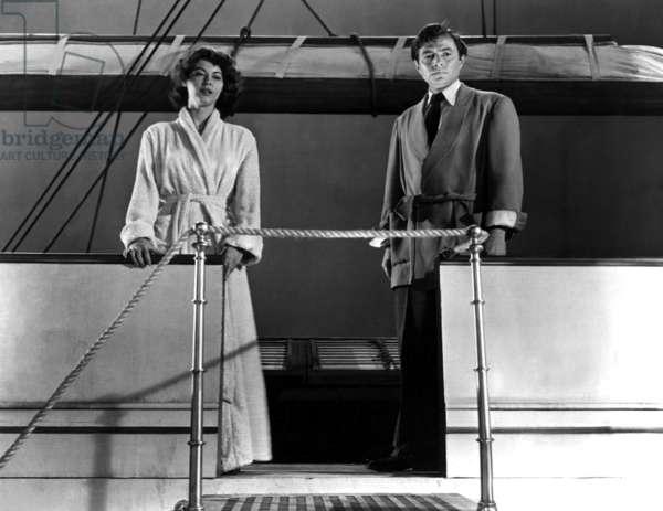 Pandora: PANDORA AND THE FLYING DUTCHMAN, Ava Gardner, James Mason, 1951, ship