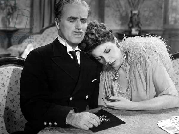 MONSIEUR VERDOUX, Charlie Chaplin, Martha Raye, 1947