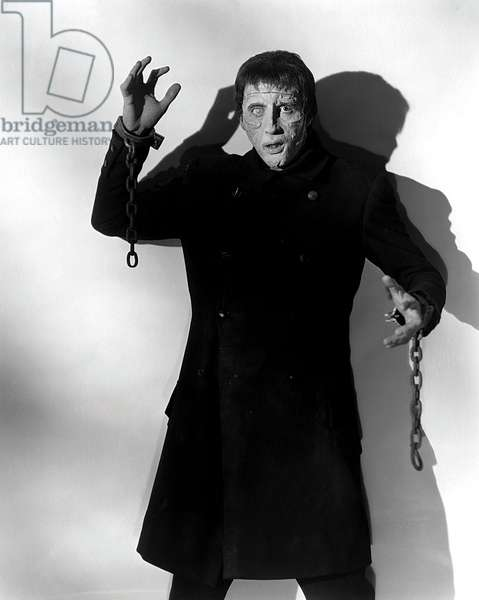 THE CURSE OF FRANKENSTEIN, Christopher Lee, 1957.