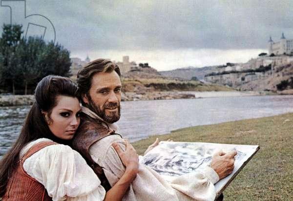 EL GRECO, Rosanna Schiaffino, Mel Ferrer, 1966
