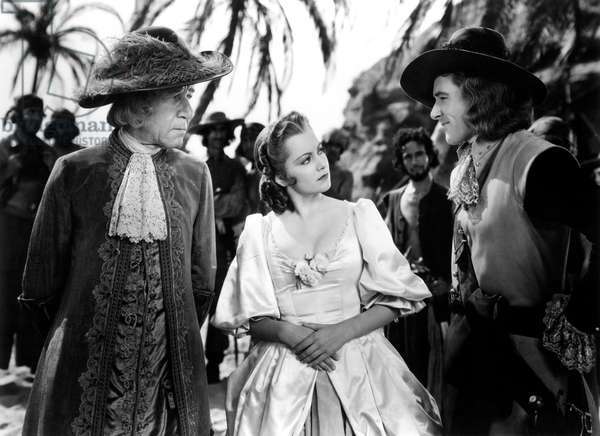 Captaine Blood: CAPTAIN BLOOD, Henry Stephenson, Olivia de Havilland, Errol Flynn, 1935