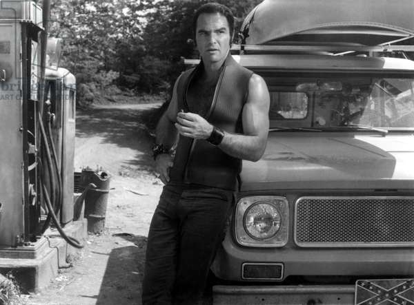DELIVERANCE, Burt Reynolds, 1972.