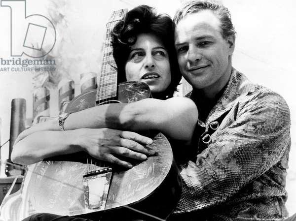 THE FUGITIVE KIND, Anna Magnani, Marlon Brando, 1959