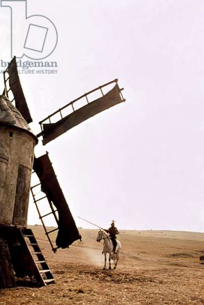 MAN OF LA MANCHA, Peter O'Toole, as Don Quixote, 1972
