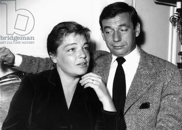 Simone Signoret and Yves Montand, ca. 1950s