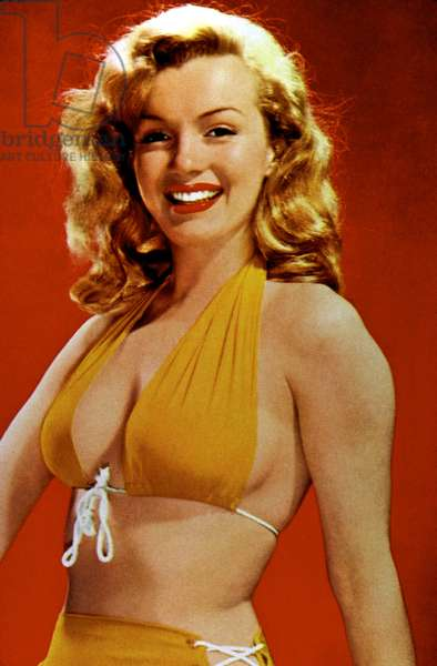 Marilyn Monroe, c. mid-1940s
