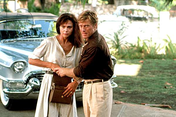 HAVANA, Lena Olin, Robert Redford, 1990, © Universal/courtesy Everett Collection