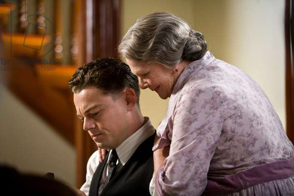 J.Edgar: J. EDGAR, from left: Leonardo DiCaprio as J. Edgar Hoover, Judi Dench, 2011. ph: Keith Bernstein/©Warner Bros./courtesy Everett Collection