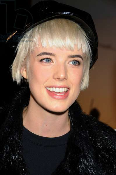 Agyness Deyn at arrivals for MoMA Salute to Baz Luhrmann, MoMA - The Museum of Modern Art, New York, NY, November 10, 2008. Photo by: Rob Rich/Everett Collection
