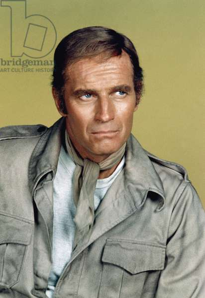 SOYLENT GREEN, Charlton Heston, 1973