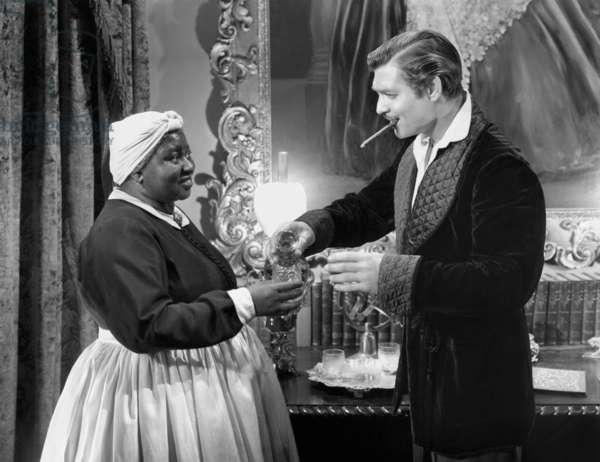 GONE WITH THE WIND, Hattie McDaniel, Clark Gable, 1939