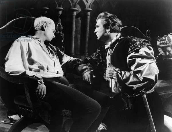 HAMLET, Laurence Olivier, Norman Wooland, 1948