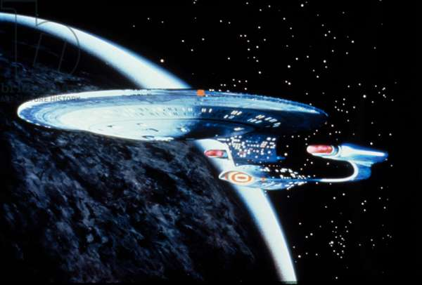 STAR TREK: THE NEXT GENERATION, U.S.S. Enterprise, Yr.1, 1987 - 1994. (c)Paramount Television/ Courtesy: Everett Collection.
