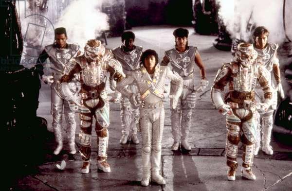 CAPTAIN EO, Michael Jackson (center), 1986. ©Buena Vista Pictures/courtesy Everett Collection