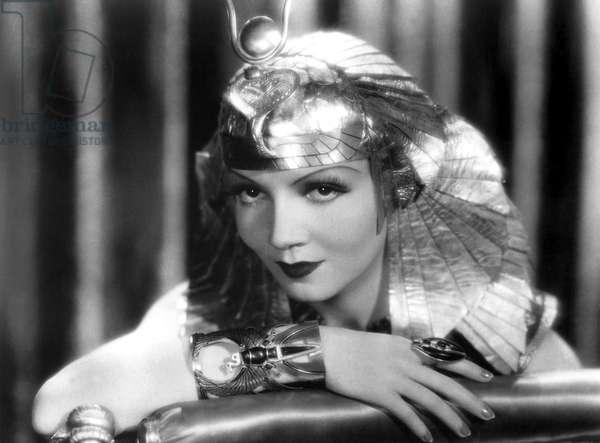 CLEOPATRA, Claudette Colbert, 1934