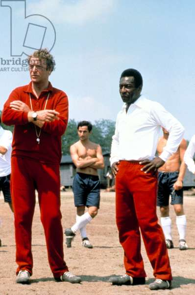 VICTORY, Michael Caine, Pele, 1981