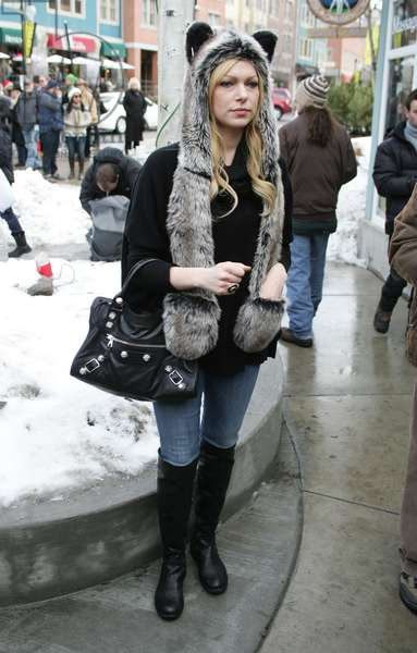 Laura Prepon out and about for Sundance Film Festival Candids - FRI, , Park City, UT January 20, 2012. Photo By: James Atoa/Everett Collection