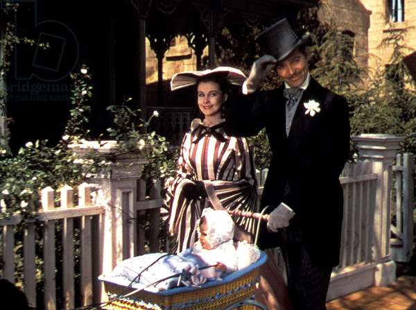 GONE WITH THE WIND, Vivien Leigh, Clark Gable, 1939