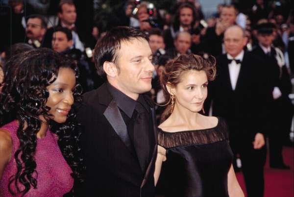 Samuel Le Bihan at the Cannes Film Festival, 5/2002, by Thierry Carpico