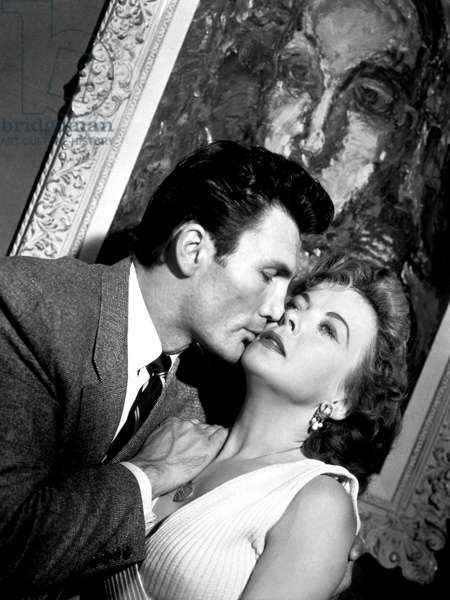THE BIG KNIFE, Jack Palance, Ida Lupino, 1955