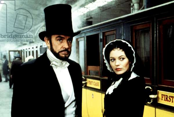 GREAT TRAIN ROBBERY, Sean Connery, Lesley-Anne Down, 1979