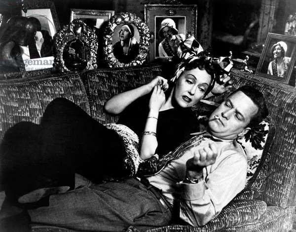 Sunset Boulevard, Gloria Swanson, William Holden, 1950
