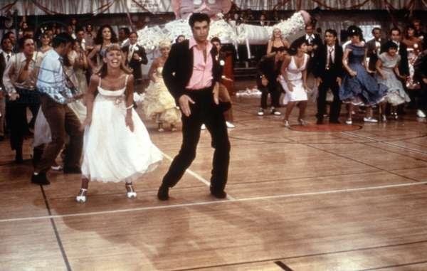 GREASE, Olivia Newton-John, John Travolta, 1978. © Paramount Pictures/ Courtesy: Everett Collection