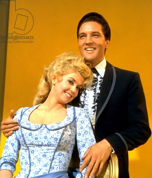 FRANKIE AND JOHNNY, Donna Douglas, Elvis Presley, 1966