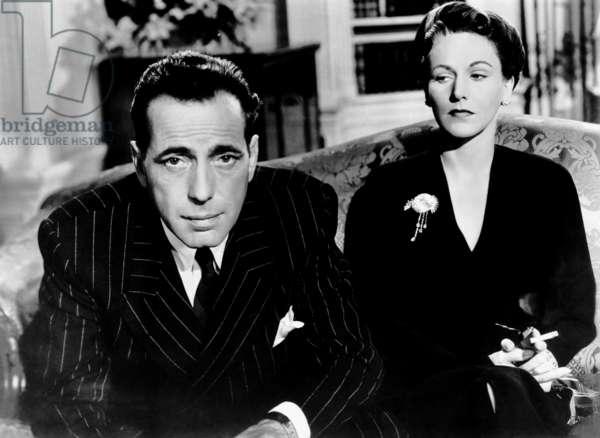 CONFLICT, Humphrey Bogart, Rose Hobart, 1945