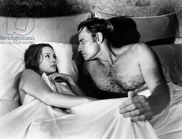 SOYLENT GREEN, Leigh Taylor-Young, Charlton Heston, 1973