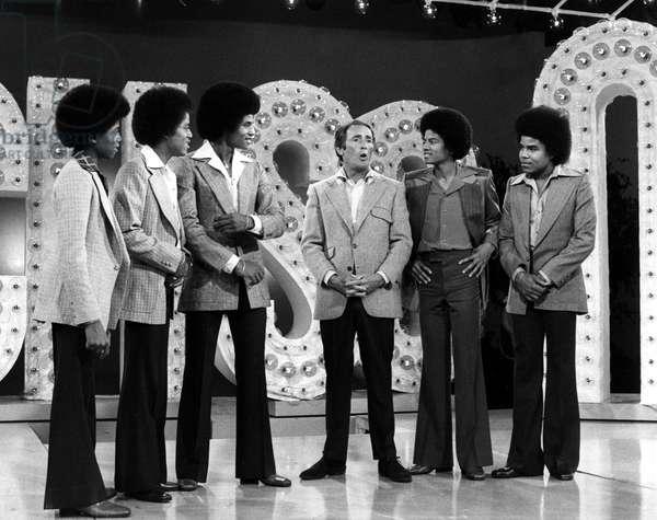 THE JACKSONS, Randy Jackson, Marlon Jackson, Jackie Jackson, Joey Bishop, Michael Jackson, Tito Jackson, 1976-77