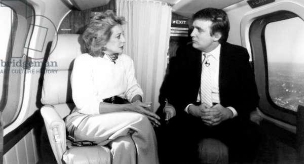 20/20, Barbara Walters, Donald Trump, (aired Dec. 11, 1987), 1978-. � ABC / Courtesy: Everett Collec