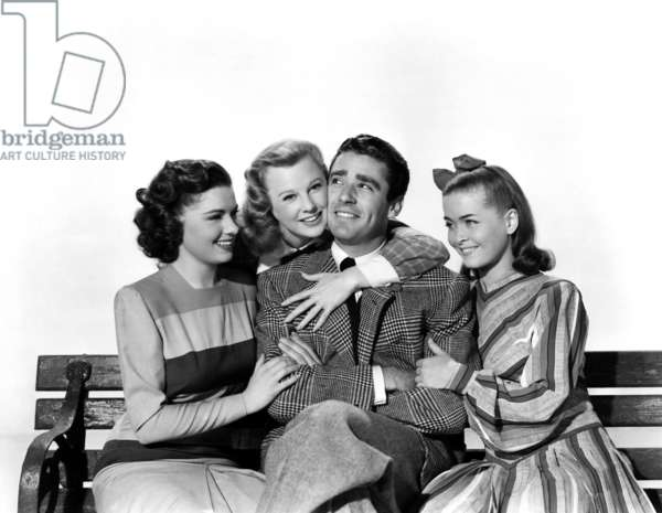 Vive l'amour: GOOD NEWS, Patricia Marshall, June Allyson, Peter Lawford, Joan McCracken, 1947