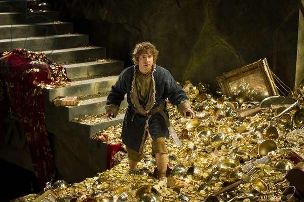 Le Hobbit: La Desolation du Smaug: THE HOBBIT: THE DESOLATION OF SMAUG, Martin Freeman as Bilbo Baggins, 2013. ©Warner Bros. Pictures/courtesy Everett Collection