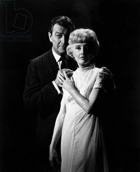 THE NIGHT WALKER, Robert Taylor, Barbara Stanwyck, 1964: THE NIGHT WALKER, Robert Taylor, Barbara Stanwyck, 1964