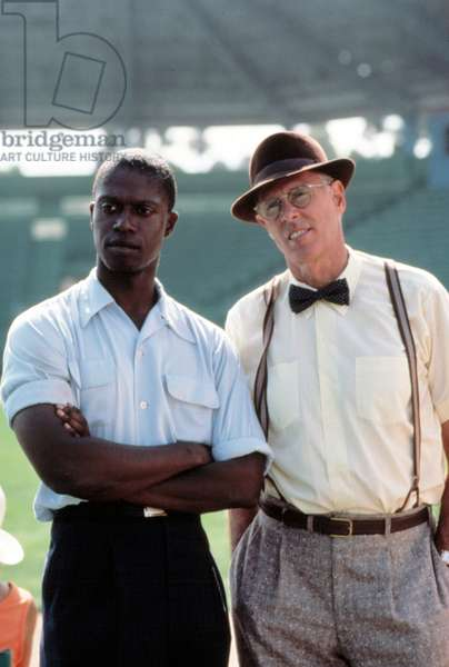 THE COURT-MARTIAL OF JACKIE ROBINSON, Andre Braugher, Bruce Dern, 1990 TV Movie. (c)Turner Pics. Courtesy: Everett Collection