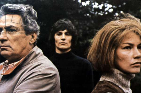 SUNDAY BLOODY SUNDAY, Peter Finch, Murray Head, Glenda Jackson, 1971