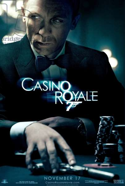 CASINO ROYALE: CASINO ROYALE, Daniel Craig, 2006, ©Sony Pictures/courtesy Everett Collection