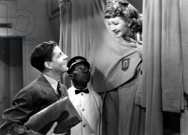 The Palm Beach Story, Rudy Vallee, Charles R. Moore, Claudette Colbert, 1942.