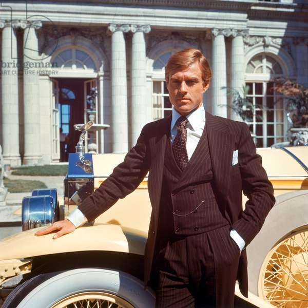 THE GREAT GATSBY, Robert Redford, 1974.