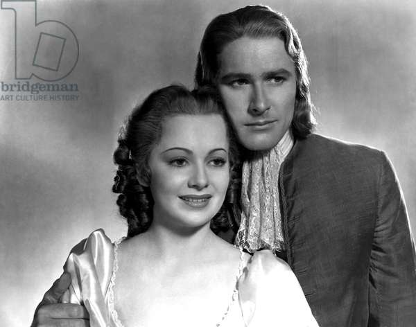 CAPTAIN BLOOD, Olivia De Havilland, Errol Flynn, 1935
